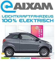 AIXAM Elektroauto - mit 100% elektrischem Antrieb