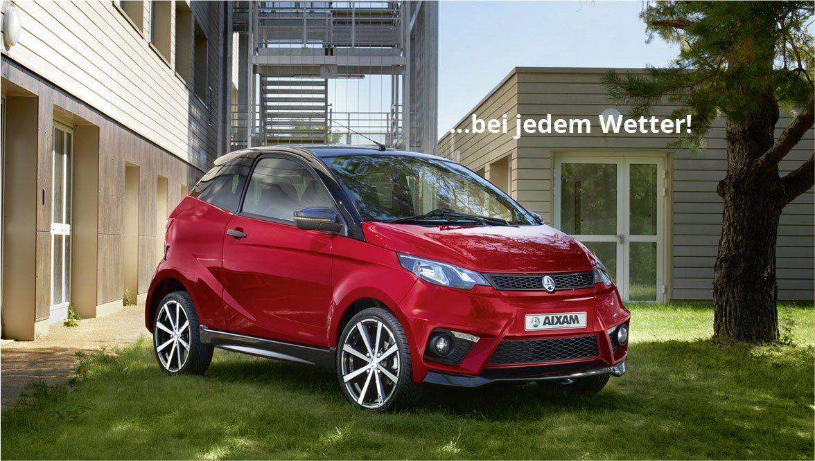 Mopedautos und Microcars vom Fachhändler in Leipzig
