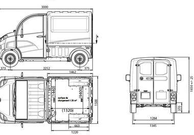 Maße Van
